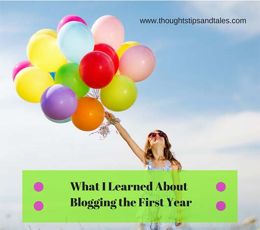 What I Learned About Blogging the First Year