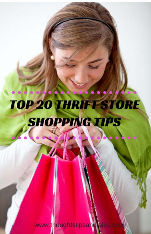 Top 20 thrift store shoppping tips