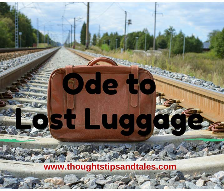 Ode to Lost Luggage