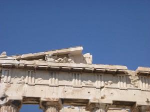 parthenon architectural details