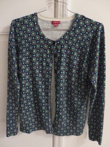 Merona printed cardigan - $3.99 (sold at Target for $20)