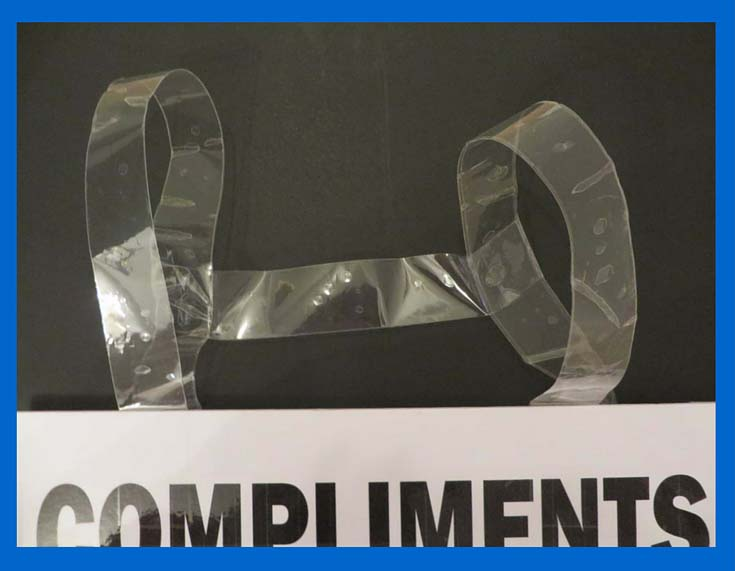 Compliment Event sandwich board straps
