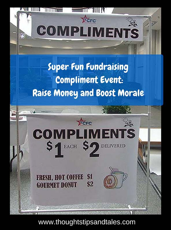 Super Fun Fundraising Compliment Event: Raise Money and Boost Morale