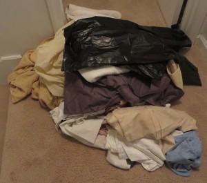 Decluttering the linen closet
