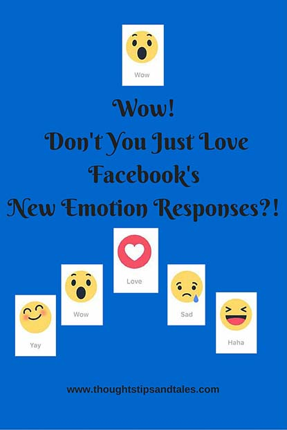 wow dont you just love facebooks new emotion responses