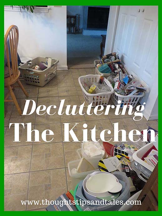 Decluttering the kitchen
