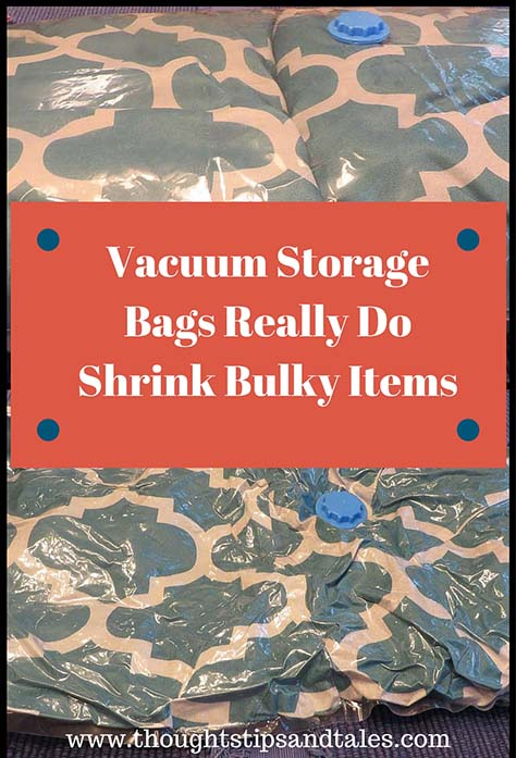 Vacuum Storage Bags Shrink Bulky Items
