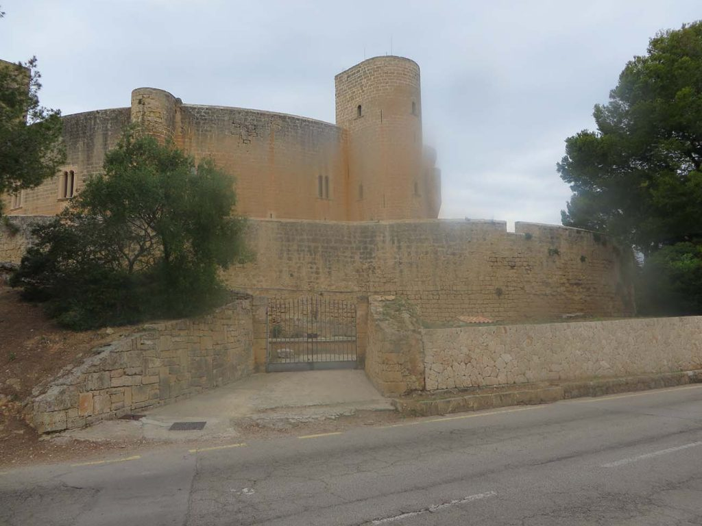 bellver castle in palma de majorca