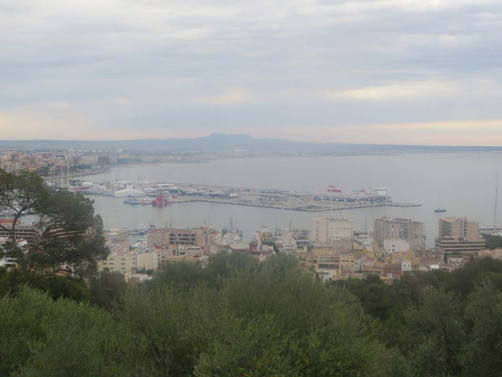 ocean view at palma de majorca