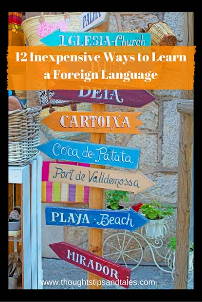 12 Inexpensive Ways to Learn a Foreign Language