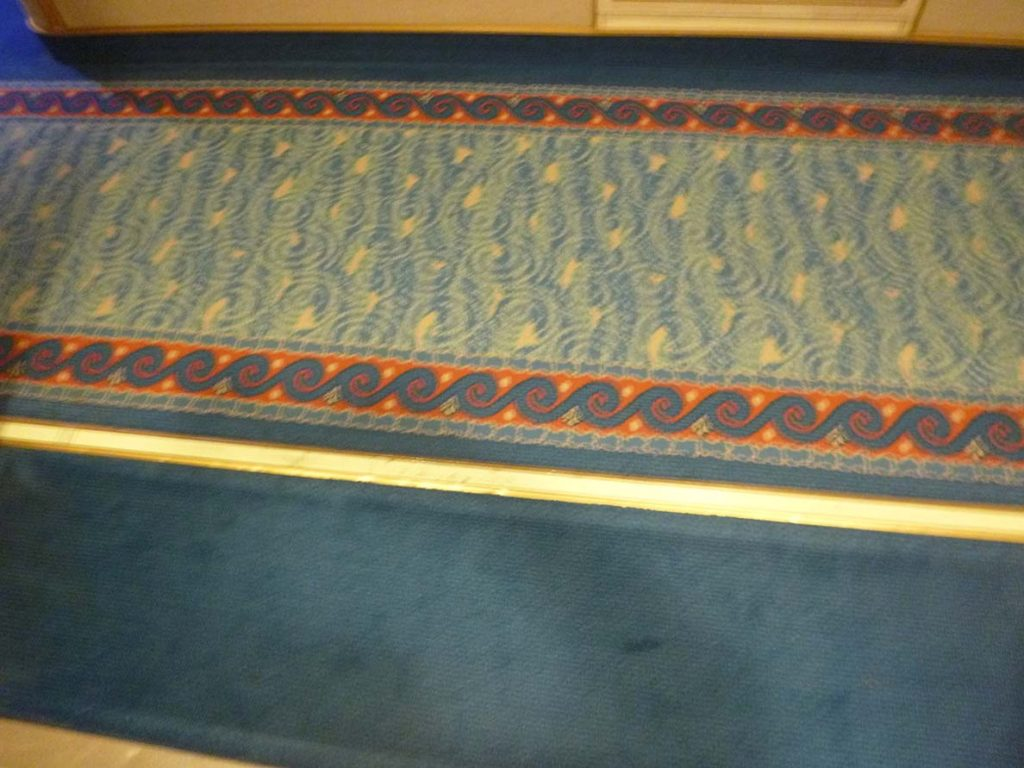 Crown Princess review: carpet