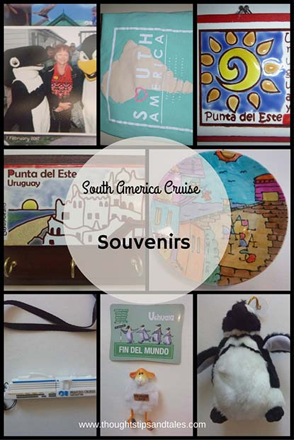 South America Cruise souvenirs