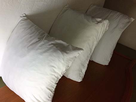 hotels you get what you pay for half a pillow