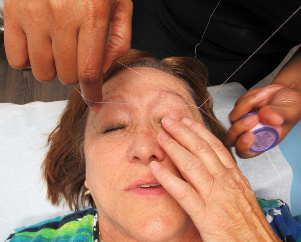 Eyebrow Threading Experience