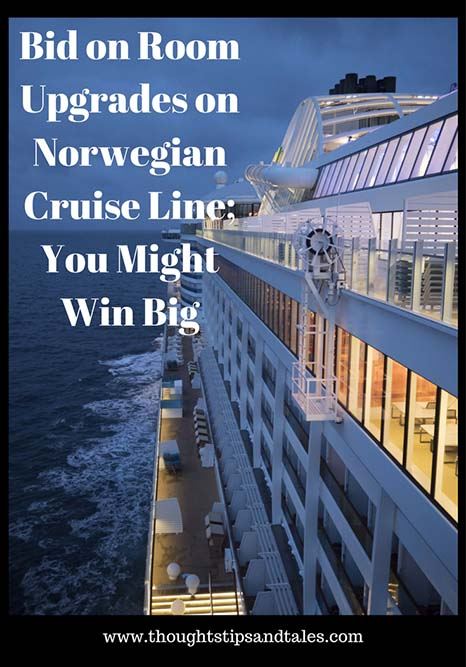 Bid on Room Upgrades on Norwegian Cruise Line; You Might Win Big