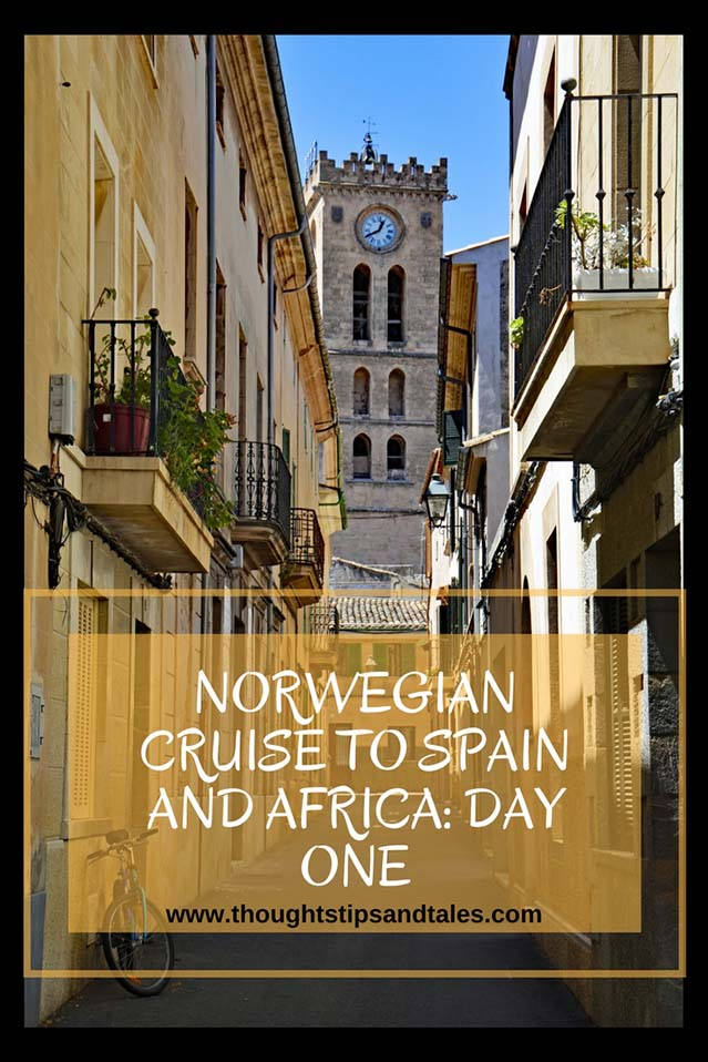 Norwegian cruise to Spain and Africa Day One