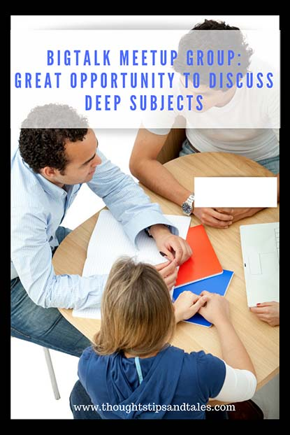 big talk meetup group great way to discuss deep subjects
