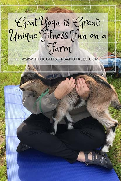 Goat Yoga is Great: Fitness Fun on a Farm