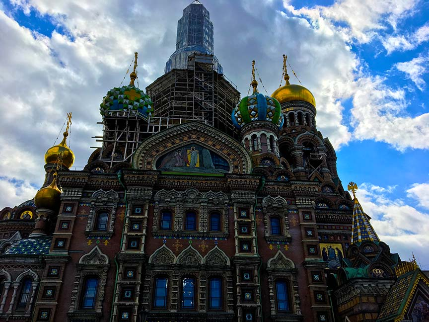 Visiting Russia on a Baltic Cruise